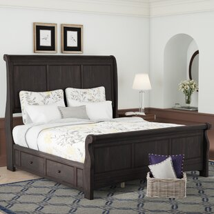 Read Reviews Chehalis Storage Sleigh Bed by Darby Home Co Reviews (2019) & Buyer's Guide