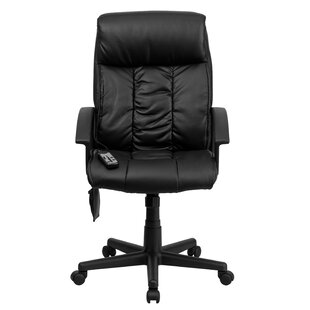Symple Stuff Woll Leather Executive Chair