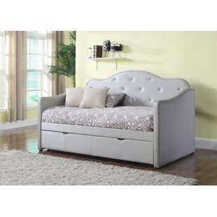 Seale Daybed with Trundle by Harriet Bee