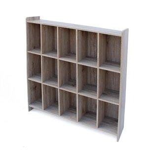 Ebern Designs Peete Wood Cube Unit Bookcase