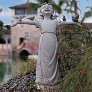 Lovely Basking In Godu0027s Glory Statue