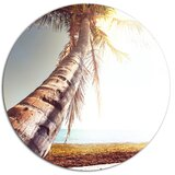 Coconut Tree Wall Art Wayfair