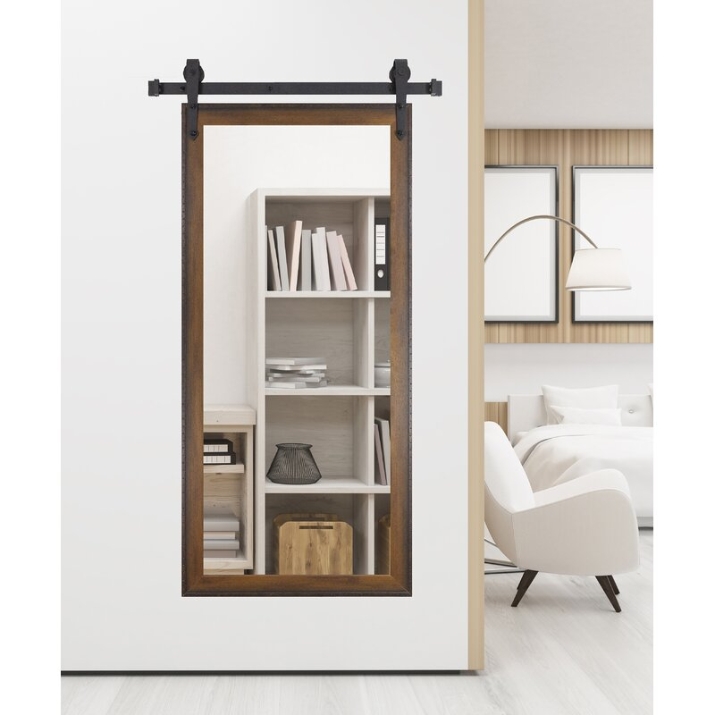 Laurel Foundry Modern Farmhouse Abraham Vertical Barn Bathroom Vanity Mirror Reviews Wayfair