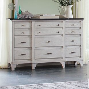 Beachcrest Home Georgetown 12 Drawer Dresser