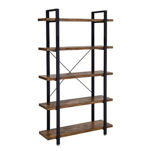 Kerney 699 H x 413 W Metal Etagere Bookcase