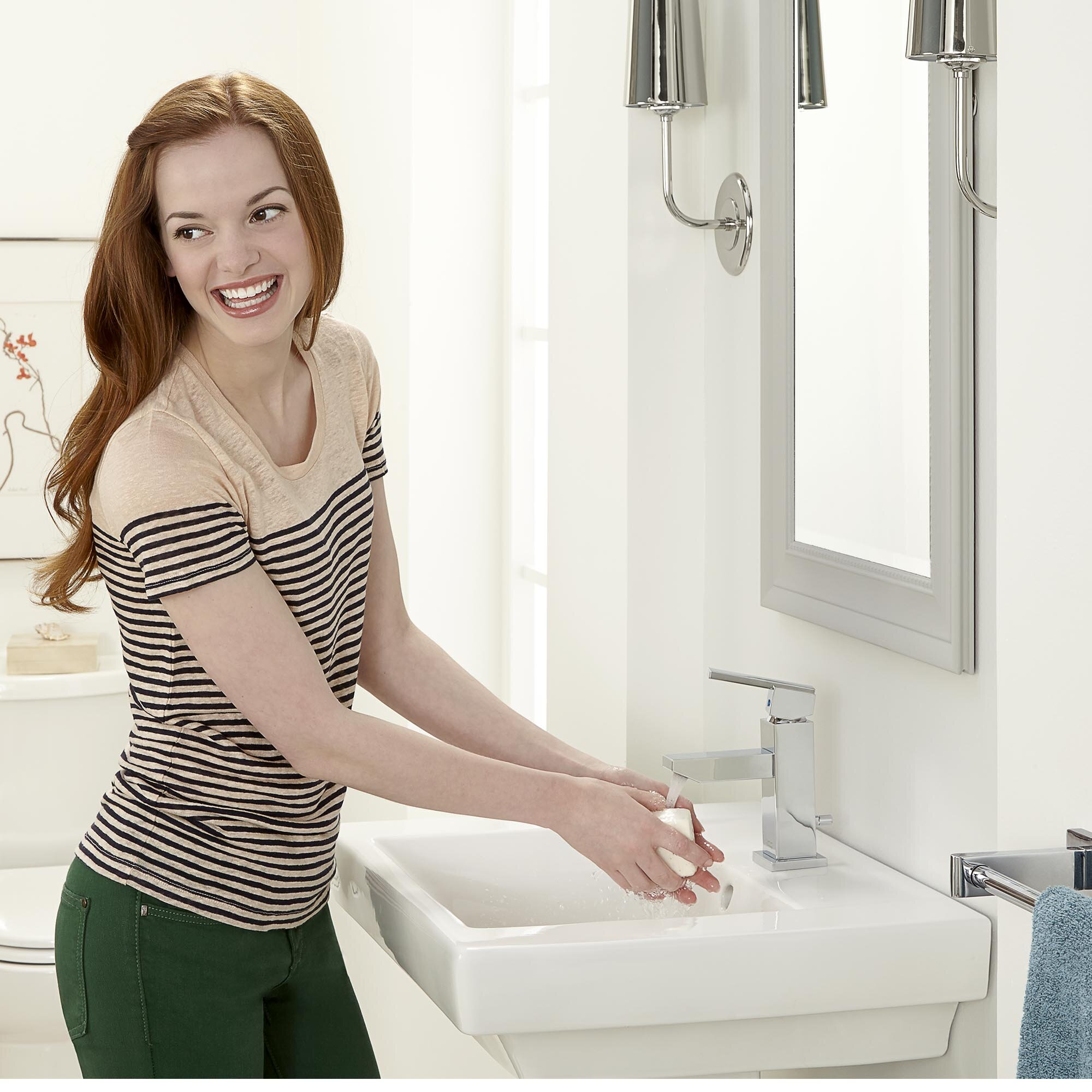 American Standard Boulevard Vitreous China 24 Pedestal Bathroom Sink With Overflow Reviews Wayfair