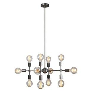 Ren-Wil Caufield 12-Lights Sputnik Chandelier