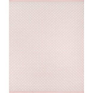 Bungalow Rose Meilani Flatweave Wool Pink Area Rug Wayfair