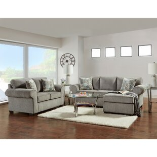 Alcott Hill Deven 2 Piece Living Room Set