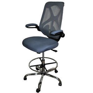 highback mesh drafting chair