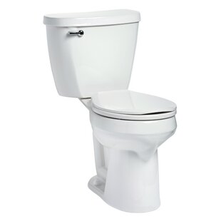 Mansfield Plumbing Products Summit SmartHeight 1.6 GPF Round Two-Piece Toilet