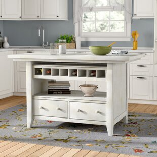 Carrolltown Wood Kitchen Island