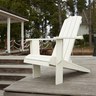 Malibu Plastic Adirondack Chair