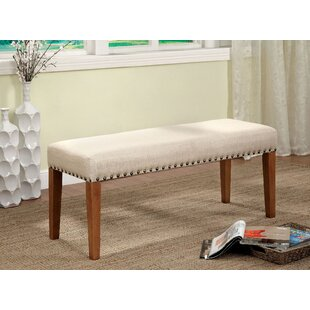 Maxton Upholstered Bench by Gracie Oaks
