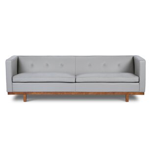 Correia Leather Sofa by Fo..
