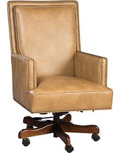 Clearance Somerset Genuine Leather Executive Chair by Fairfield Chair Reviews (2019) & Buyer's Guide