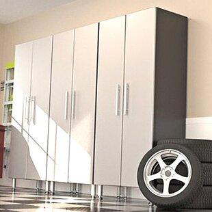 Garage PRO 7' H x 3' W x 2' D 3-Piece Tall Storage Cabinet Set by Ulti-MATE