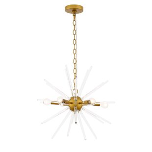 Orren Ellis Gorby 6-Light Novelty Pendant