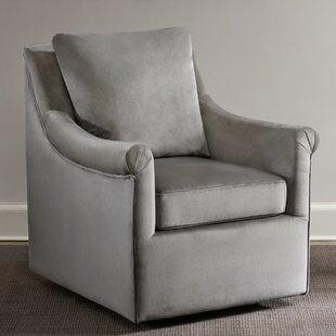 Lauretta Swivel Armchair by Alcott Hill Cheap
