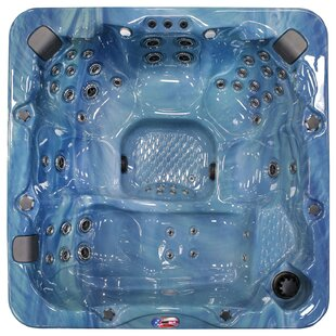American Spas 7-Person 56-Jet Spa with Bluetooth Stereo System