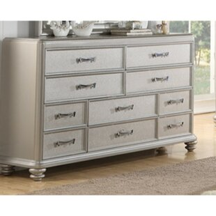 Losada 10 Drawer Chest