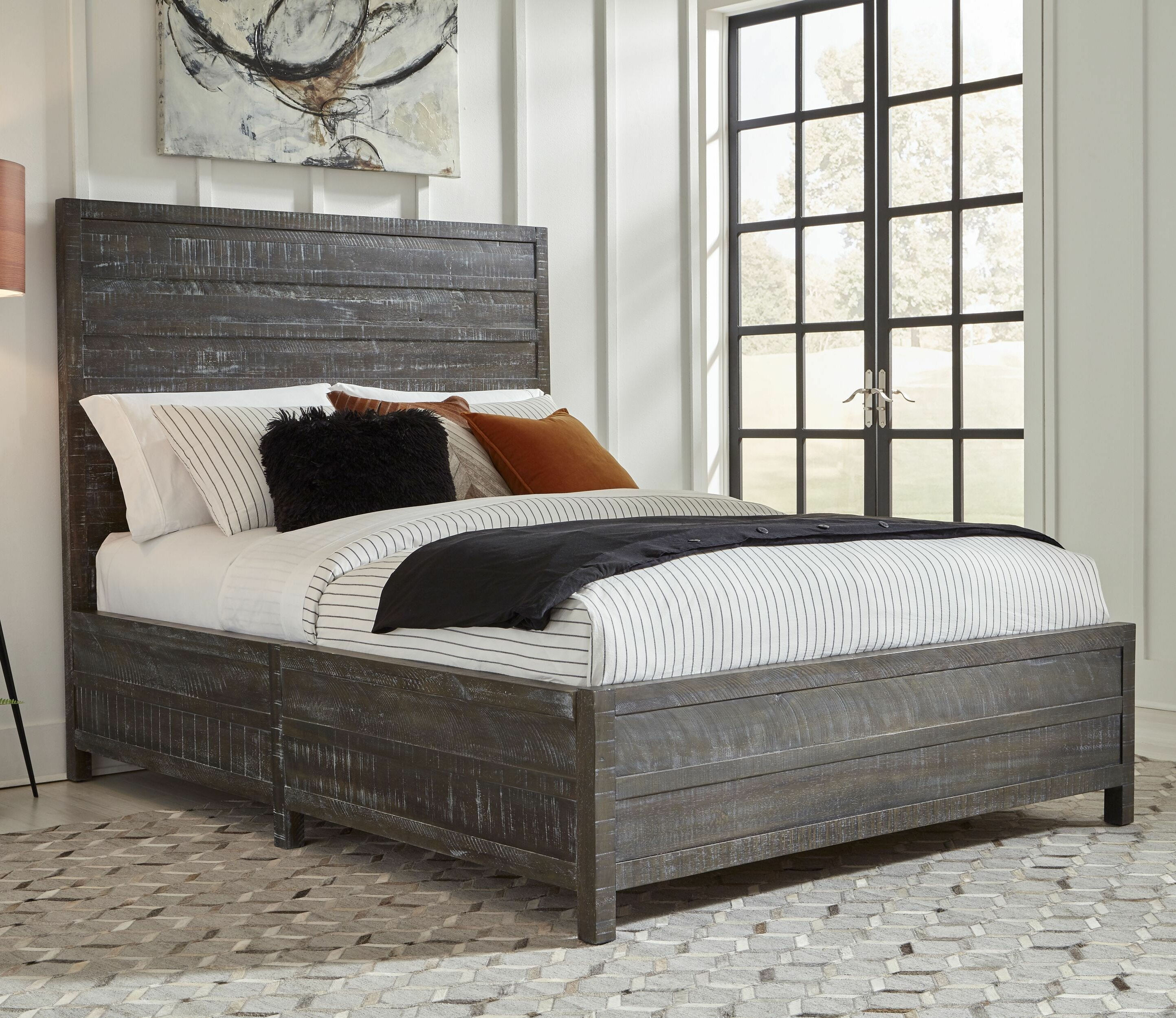 Millwood Pines Esparza Solid Wood Standard Bed Wayfair