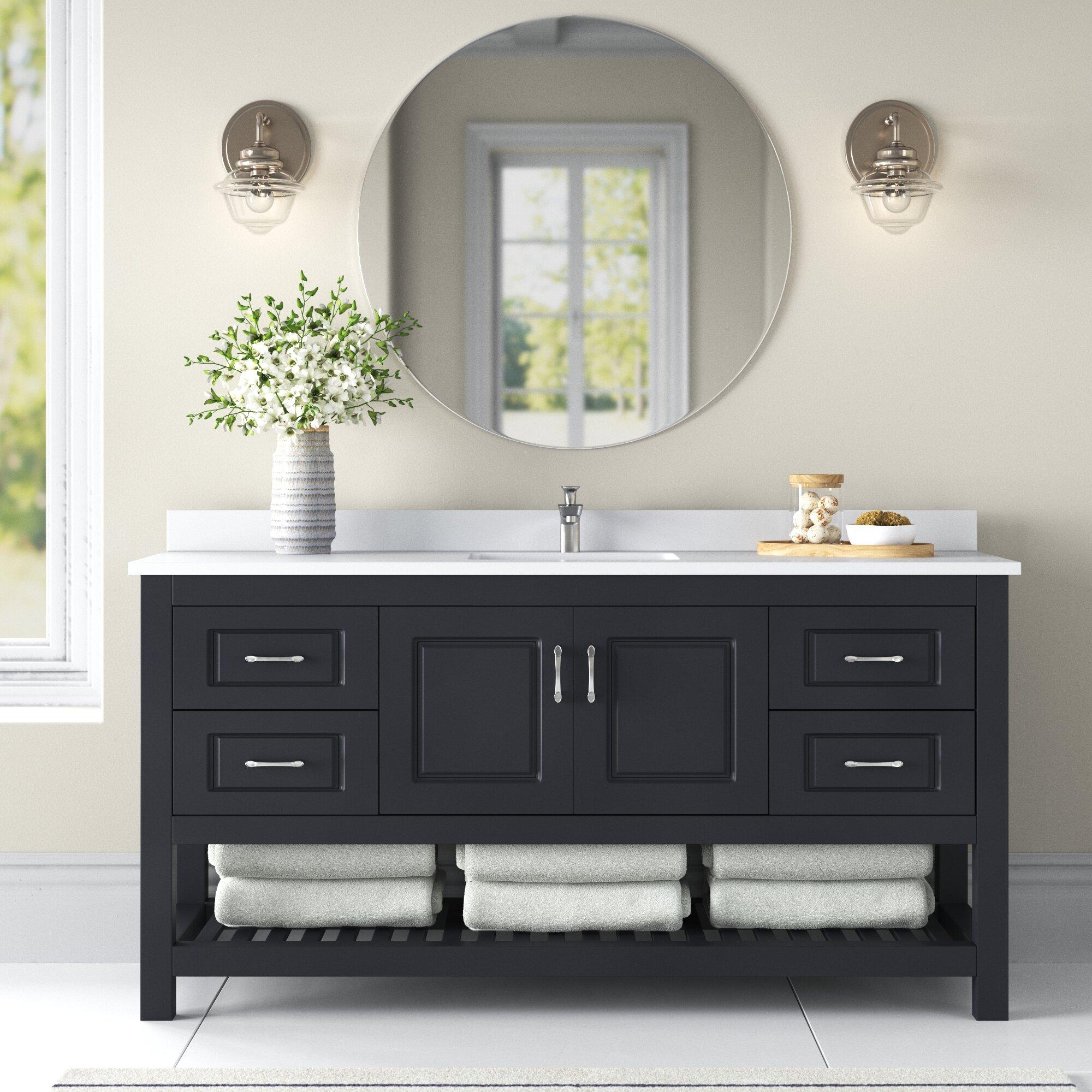 Needville 59 Single Bathroom Vanity Set Reviews Joss Main