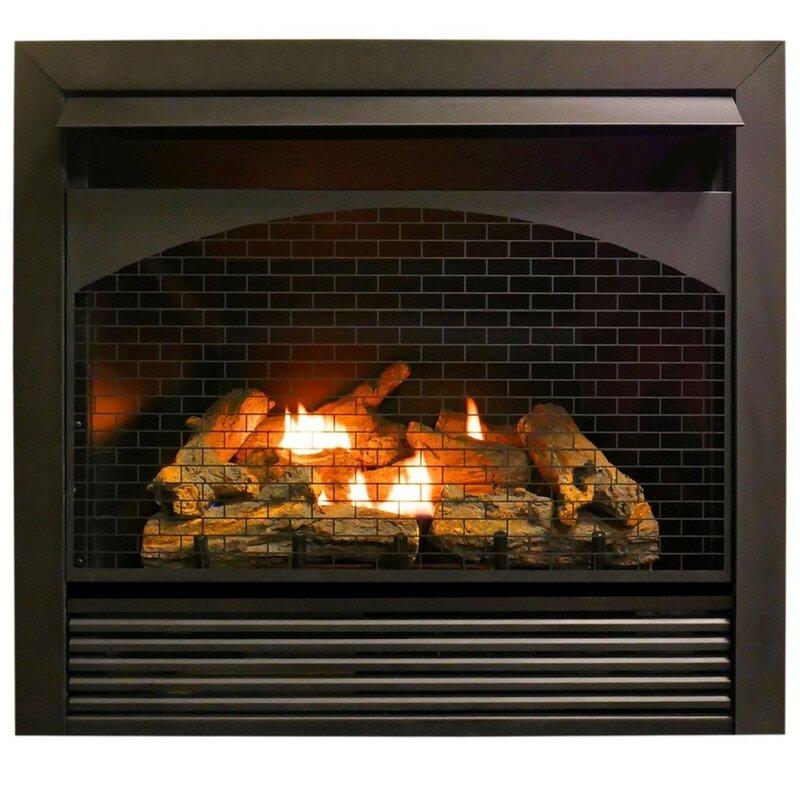 Procom Heating Zero Clearance Vent Free Propane Natural Gas