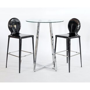 Sharleen 3 Piece Pub Table Set By Metro Lane