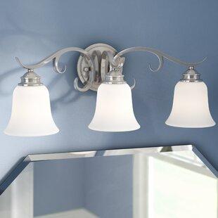 Coupon Elayne 3-Light Vanity Light ByRed Barrel Studio
