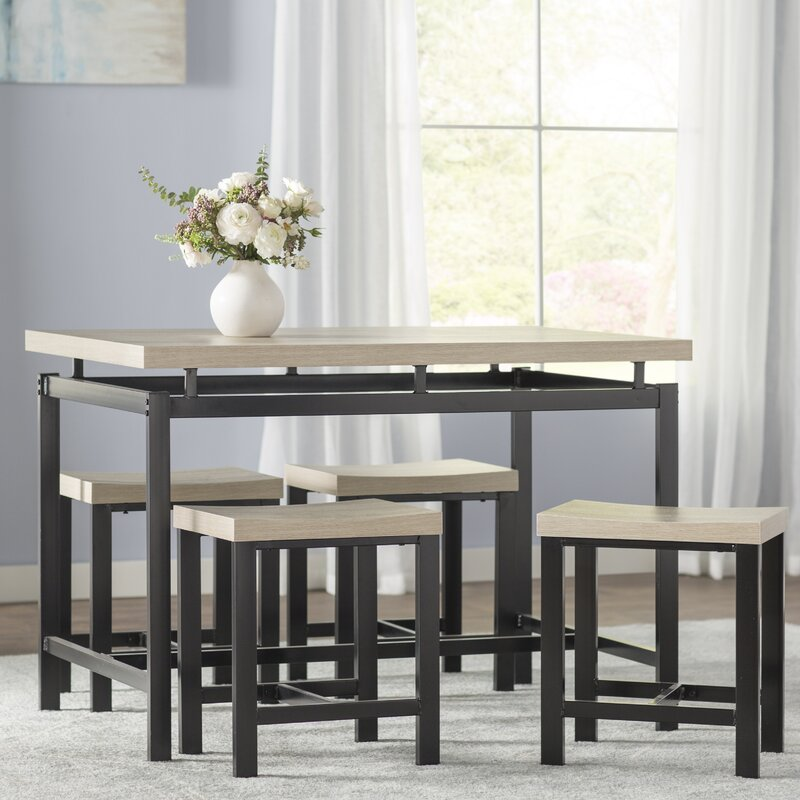 Awesome Bryson 5 Piece Dining Set
