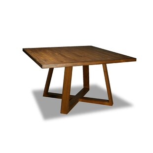 Union Rustic Masse Solid Wood Dining Table
