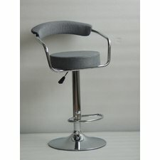 Hayworth Adjustable Height Swivel Bar Stool by Orren Ellis