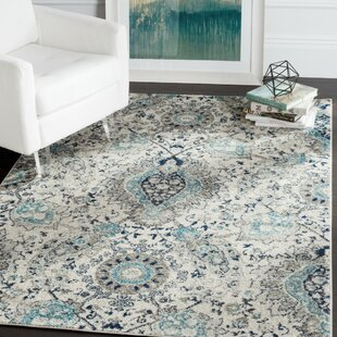 Great choice Grieve Cream Area Rug by Bungalow Rose