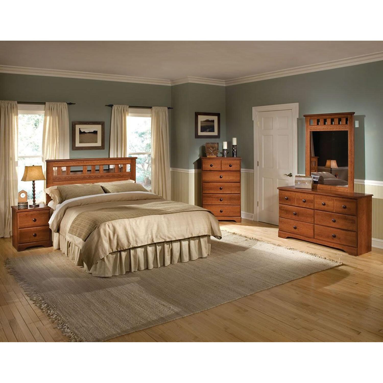 Alcott Hill Suffield Queen Panel 5 Piece Bedroom Set & Reviews | Wayfair