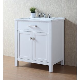 Radiant 30 Single Bathroom Vanity by dCOR design