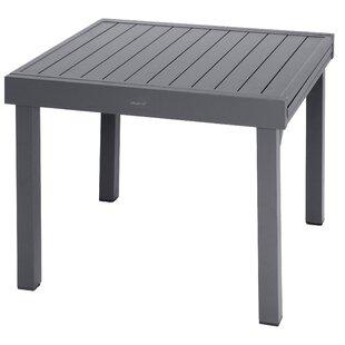 Loki Extendable Aluminium Dining Table Image