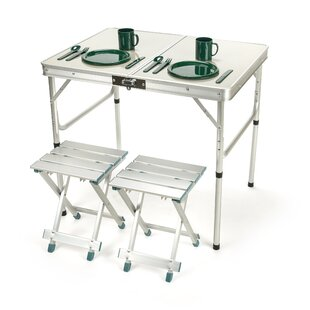 3 Piece Picnic Table Set by Trademark Innovations Herry Up
