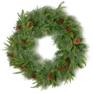 Cleveland Pinecone And Berry 61cm Wreath By The Seasonal Aisle