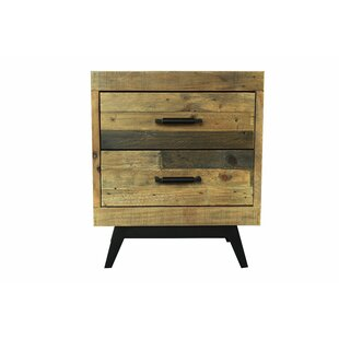 Millwood Pines Clare 2 Drawer Nightstand