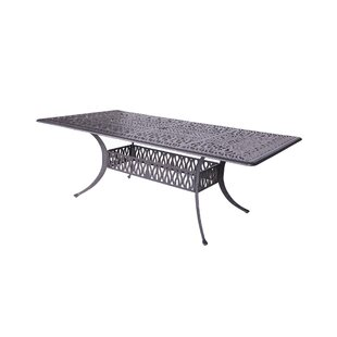 World Menagerie Beaufort Rectangle Dining Table
