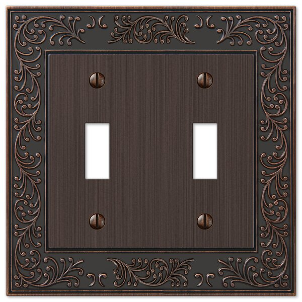 Fleur De Lis Living Chanhassen 2 Gang Toggle Light Switch Wall Plate Reviews Wayfair