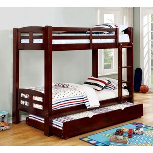 Find Crosby Twin Over Twin Bunk Bed by Harriet Bee Reviews (2019) & Buyer's Guide