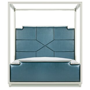 Westford Upholstered Canopy Bed