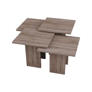 4 Piece Coffee Table Set By Symple Stuff