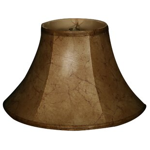 13 Faux Leather Bell Lamp Shade