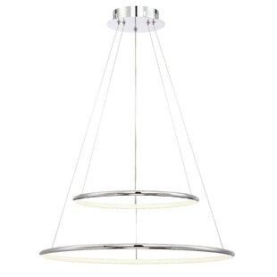 Orren Ellis Vernie 2-Light Pendant