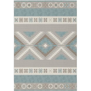 Best Choices Boyden Gray/Off White Area Rug ByUnion Rustic