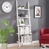 Gilliard Ladder Bookcase by Three Posts