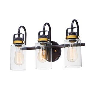Killingsworth 3-Light Vanity Light by Breakwater Bay